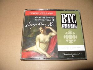 Gulland-The-Many-Lives-amp-Secret-Sorrows-Of-Josephine-B-3-cd-cds-are-Audio-Ex