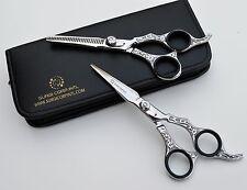"6"" Professional Hairdressing  Scissors HAND GRAFTED Vintage Look Razor Sharp ."