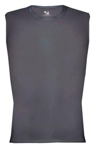 Badger Adult Moisture Management Stretch Body Fit Tack Sleeveless T-Shirt 4631