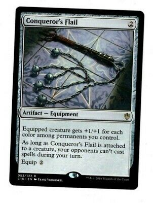 Conqueror/'s Flail X1 Commander NM Magic the Gathering
