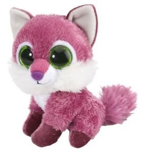 LI-039-L-SWEET-amp-SASSY-FOX-RASPBERRY-PLUSH-SOFT-TOY-5-034-STUFFED-ANIMAL-WILD-REPUBLIC