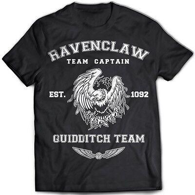 9204 Ravenclaw Team T-Shirt Harry Potter Hufflepuff Slytherin Gryffindor Hogwart