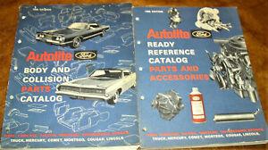 1968 1967 1966 1965 Ford Parts Catalog Fairlane 300 ...