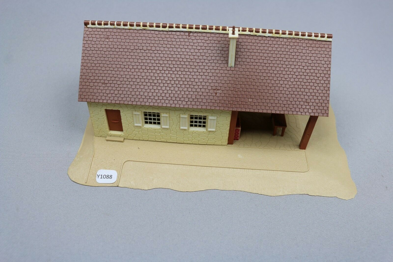 Y1088 jouef 1011 model train oh 1 87 secondary residence house assembled