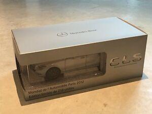 Mercedes Cls Shooting Brake Paris 2012 (de Norev) Gris Mat / Argent Mat 1/18
