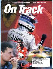 On Track Magazine December 16-29 1999 Formula 1 Season Review EX 021916jhe