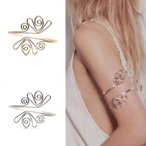 Hot-Women-Upper-Arm-Cuff-Armlet-Armband-Bangle-Bracelet-Waistband-Egypt-Gift-US