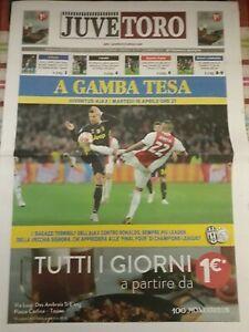 Magazine-match-program-16-04-2019-Juventus-Ajax-Champions-League-Straight-Leg-to