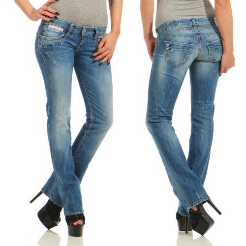 HERRLICHER NEU PIPER Straight Denim Stretch Damen Jeans Hose D9900//066