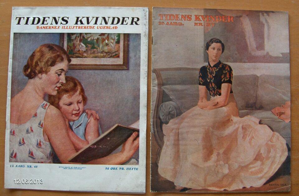 tidens kvinder artikler