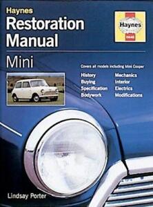 Mini-Restoration-Manual-Haynes-Resto-Series-by-Lindsay-Porter-NEW-Book-FREE