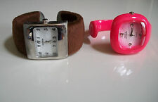 Designer Style Plastic & Fur fashion  bangle women's  watches, deal of 2 pcs