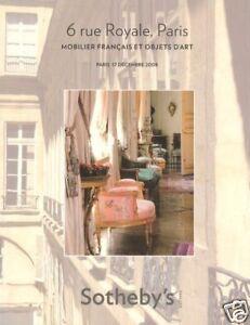 Sotheby-039-s-Catalogue-6-Rue-Royale-Paris-17-12-2008-HB