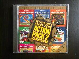 NEW Sealed - Activision's Atari 2600 Action Pack 2  (PC, 1995) 15 Games
