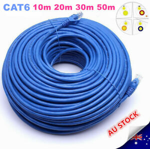 10M-20M30M-50M-Cat6-Network-Ethernet-Rj45-Cable-100M-1000Mbps-1-Year-Warranty