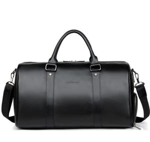 Large-Mens-Soft-Leather-Duffel-Shoulder-Bag-Travel-Overnight-Luggage-Handbag