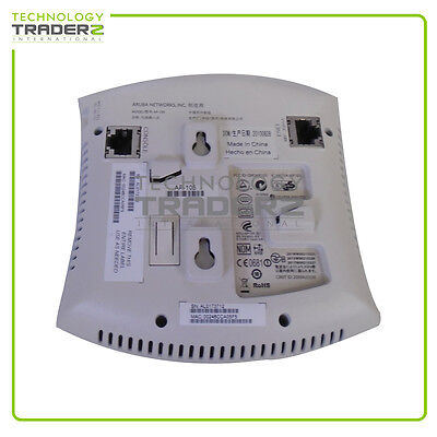 AP-105 Aruba Dual Band 300 Mbps Wireless Access Point Pulled *