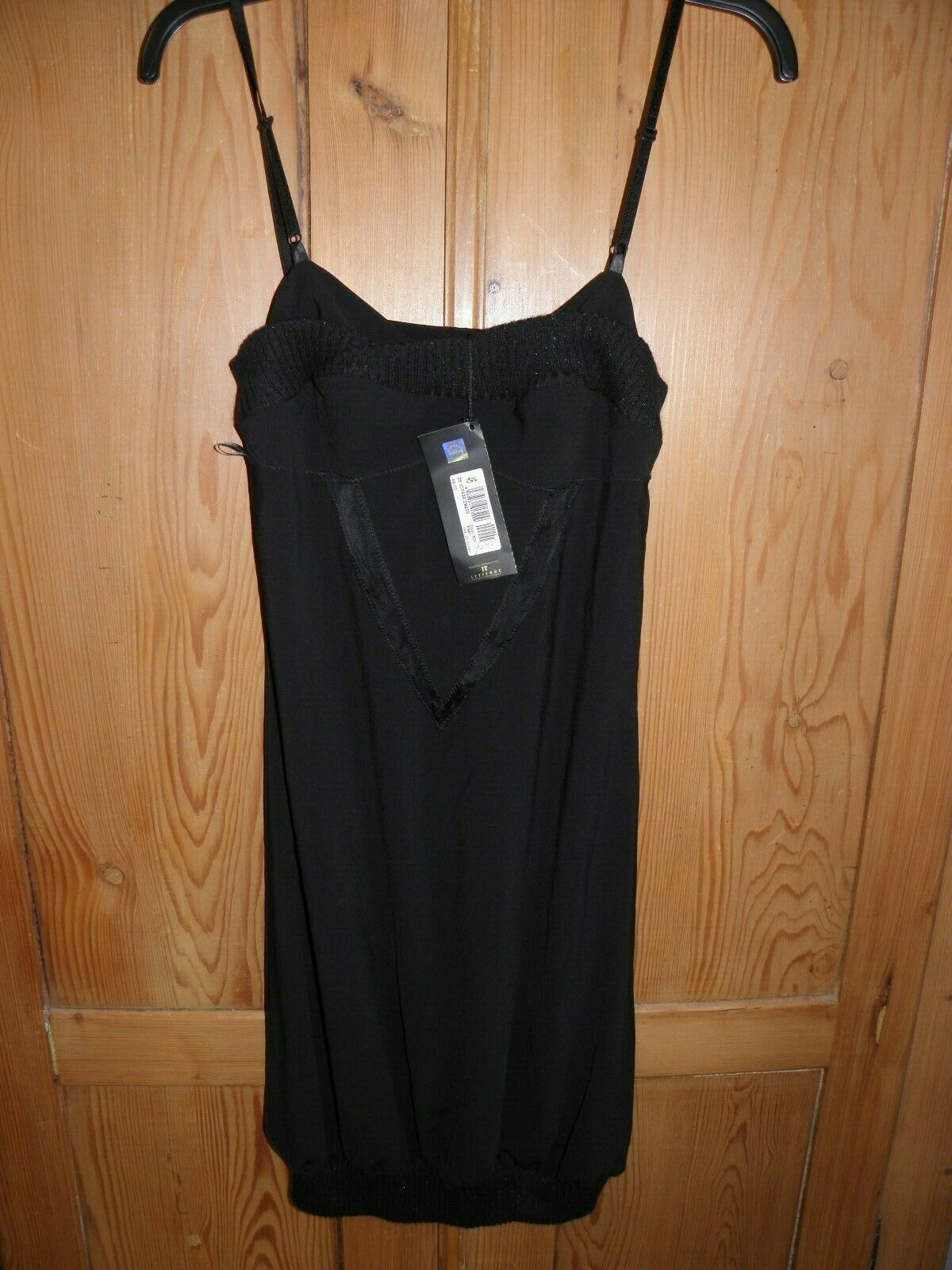 Just Cavalli BNWT strappy schwarz dress, Größe 46 (12 )