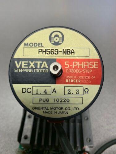 vexta stepping motor ph569-nba//csd5814n-p 5-phase