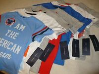 Tommy Hilfiger Toddler Boys Kids Shirt Top Size Sz 2t 3t 4 5 6 7 S/s Th