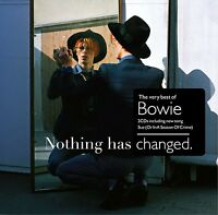 DAVID BOWIE CD x 2 Nothing Has Changed The Very Best of DOUBLE  New and Sealed