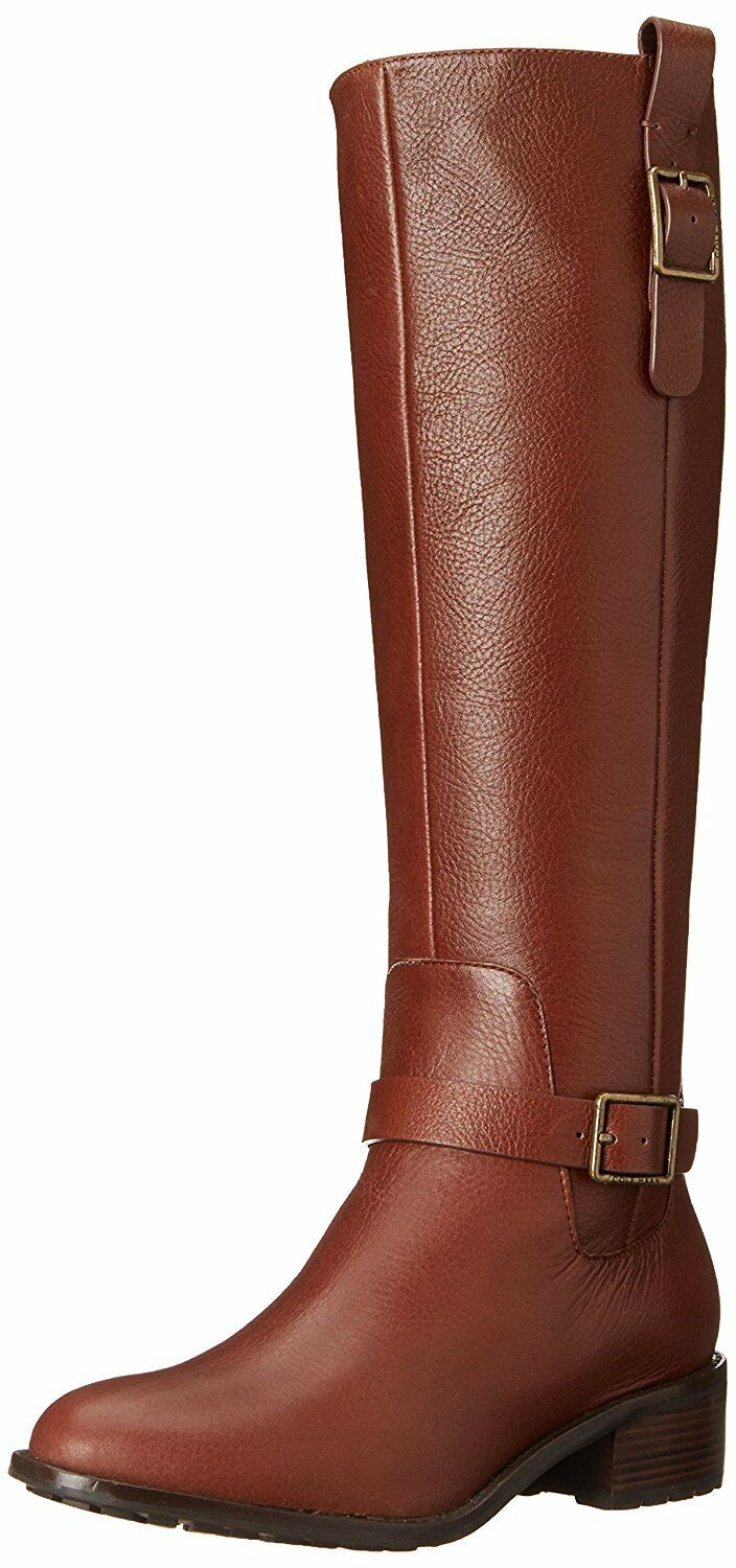 Cole Haan Women's Kenmare Tall Riding Chestnut Boot
