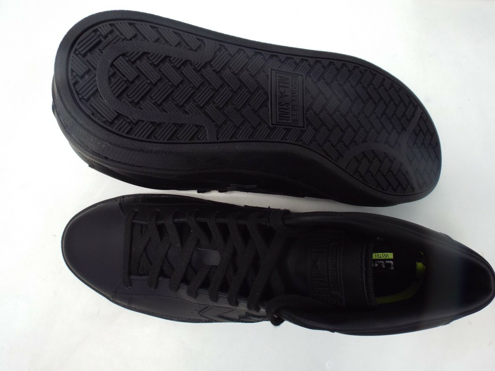 Uomo 13 converse all star 75 player pl 76 mid - 75 star 155334c pelle nera 7151f9