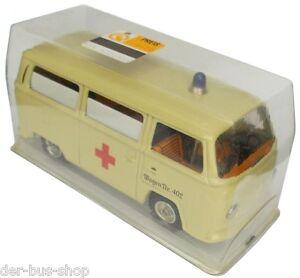 VW-Bus-T2-original-CKO-Kellermann-Modell-Krankenwagen-ca-1-43-NEU-OVP