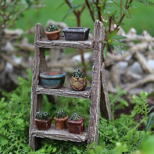 Miniature Fairy Garden PLANT LADDER (NIP)
