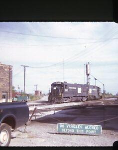 PENN-CENTRAL-Railroad-Locomotives-2867-Original-1973-Photo-Slide