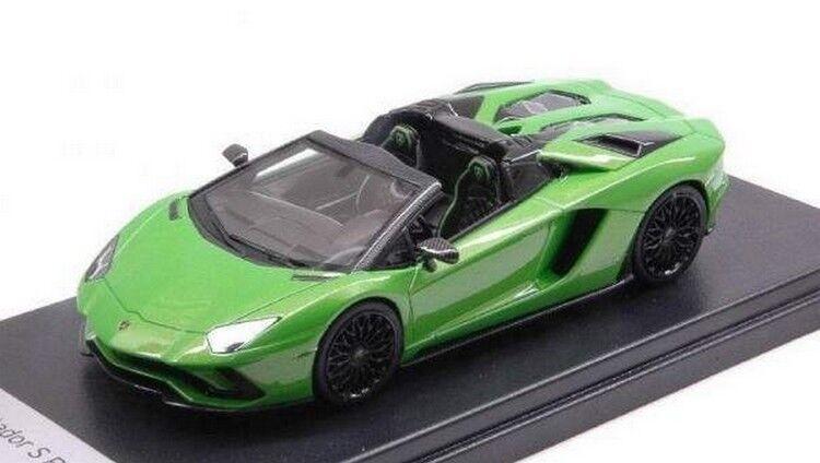 LOOKSMART LOOLS482D - Lamborghini Aventador S Roadster vert Mante - 2017  1 43