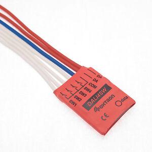 DALI switching module - programable DALI input, unit 4 channels