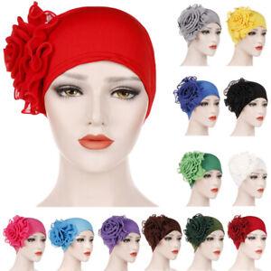 Women-Flower-Cancer-Chemo-Hat-Muslim-Hijab-Hair-Loss-Head-Scarf-Turban-Cap-Lady