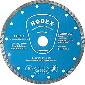 Diamond-Turbo-Rim-Cut-Saw-BLADE-Disc-Angle-Grinder-Concrete-Brick-Stone-Cutting
