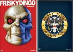 Frisky Dingo Complete TV Series Season 1 and 2 (First and Second) - NEW DVD Set!