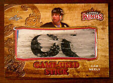 2016/17 CAM NEELY LEAF LUMBER KINGS GAME USED STICK 3 COLORS 2/2 EBAY 1/1!
