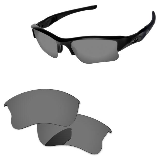 Black Iridium Polarized Replacement Lenses for Flak Jacket XLJ ...