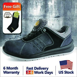 87dbd75f8dd6 Safetoe Safety Shoes Mens Work Sports Light Weight Composite Toe ...