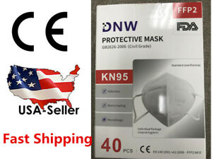5/20/40 PCS DNW KN95 FFP2 Face Mask Mouth Cover Disposable Masks Respirator