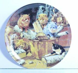 Collection-Plate-Guldkrogen-Cat-Kattrakande-I-Spisen-With-Certificate-Boxed
