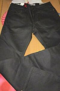 Pantalon Celio straight fit C*15 enduit noir taille 38