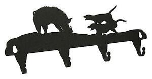 Hog-Doggin-Dog-Pig-Boar-Key-Hook-Holder