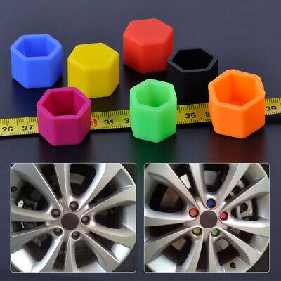 20Pcs Car 17mm Hub Screw Cover Wheel Nut Caps Bolt 2020 Kits Nut Bolts E6D3