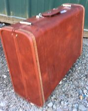 Royal Traveller Hard Shell Suitcase Luggage Brown