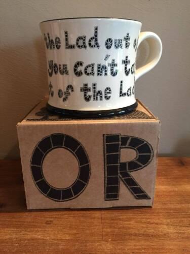 Nouveau Moorland Pottery Yorkshire Lass Mug-Coffret Cadeau