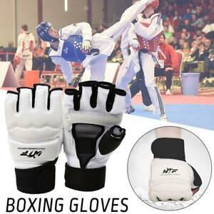 1-Paar-Boxhandschuhe-MMA-Taekwondo-Handschuhe-Schutzhandschuhe-Boxen-MuayThai