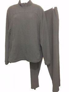 Orvis-Womens-L-Black-Puckery-Lightweight-Zip-Front-Jacket-Pants-Outfit