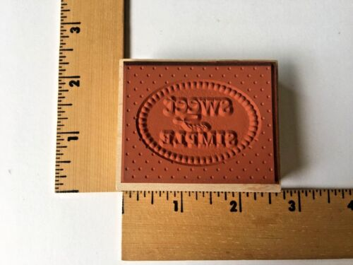 E4510 NEW Hero Arts Rubber Stamp Sweet Motif