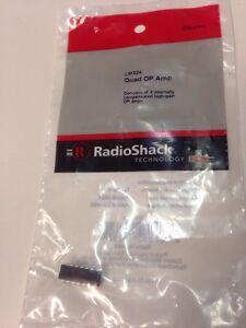 NOS Radio Shack LM324 Quad Amp