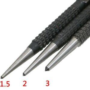 3Pcs-Nicht-Beleg-Koerner-Pin-Set-Alloy-Steel-3-32-034-Metall-Diy-Holzmarkierungswerk